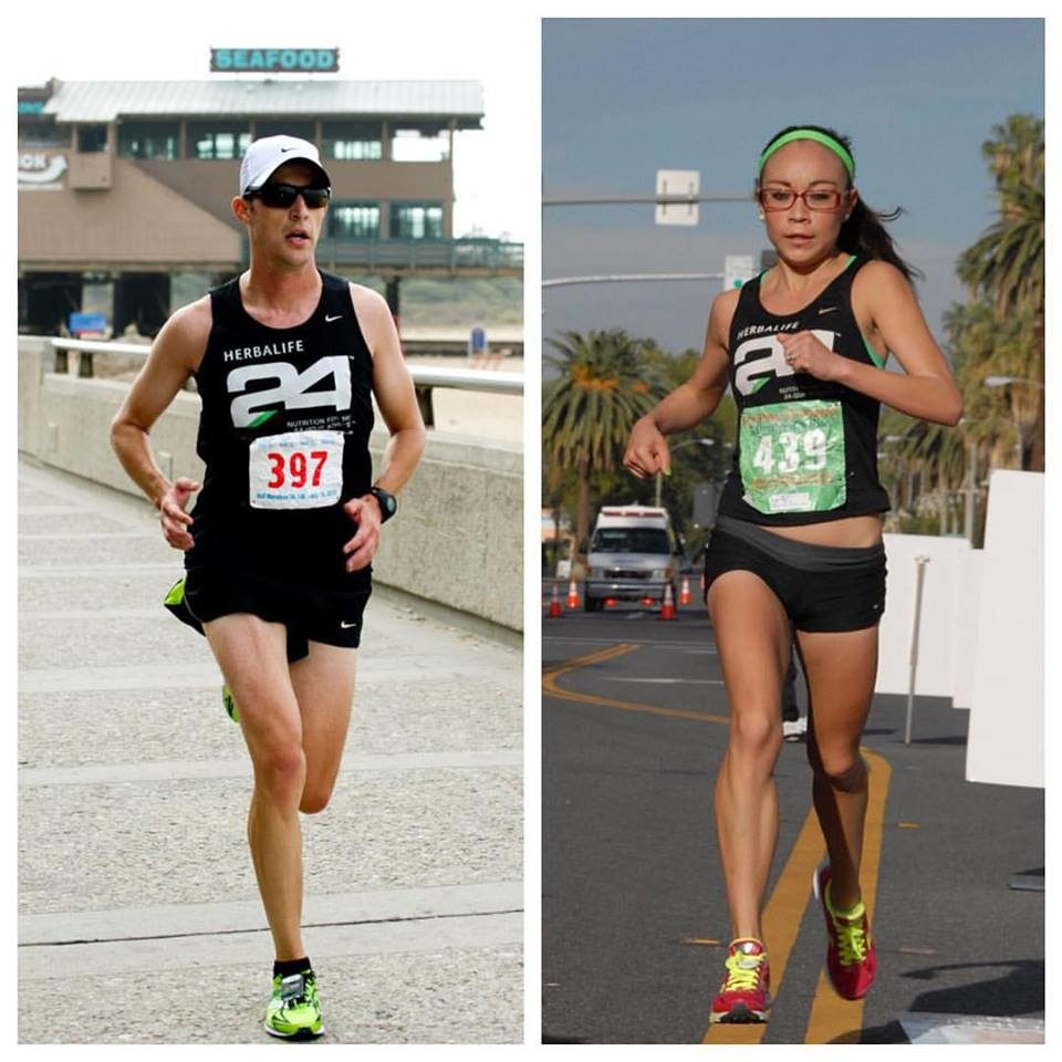 Andy & Alma winning the 2013 Shoreline Half-Marathon and 5K